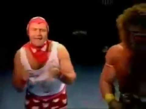 Ultimate Warrior vs Phil Collins