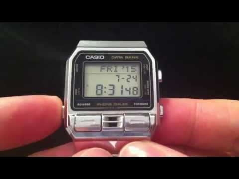 Casio Phone Dialler Quick Demo DBA-800