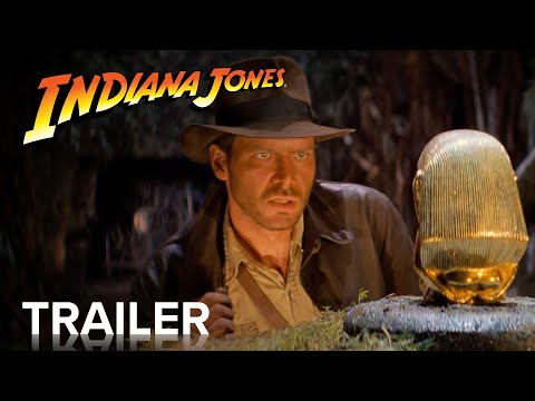 INDIANA JONES AND THE RAIDERS OF THE LOST ARK | Official Trailer | Paramount Movies
