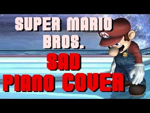 SUPER MARIO BROS THEME - MINOR KEY SAD PIANO COVER | YAOG COVERS | WILL IT SAD?