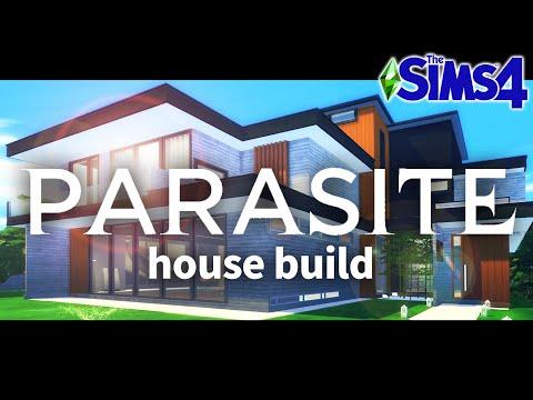 '기생충' 속 저택을 심즈로 만든다면? ㅣPARASITE House Buildㅣthe Sims4