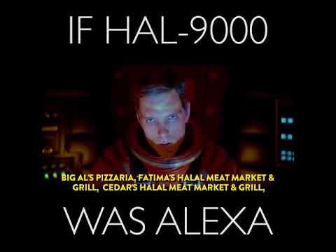 If HAL was Alexa (from Amazon)