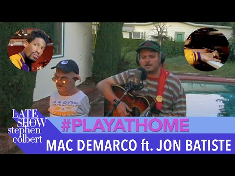 "Mac DeMarco ft. Jon Batiste ""Fooled By Love"" - Late Show #PlayAtHome"