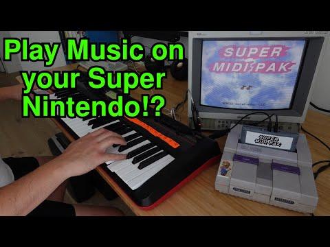 Super MIDI Pak turns your SNES into a MIDI synthesizer!