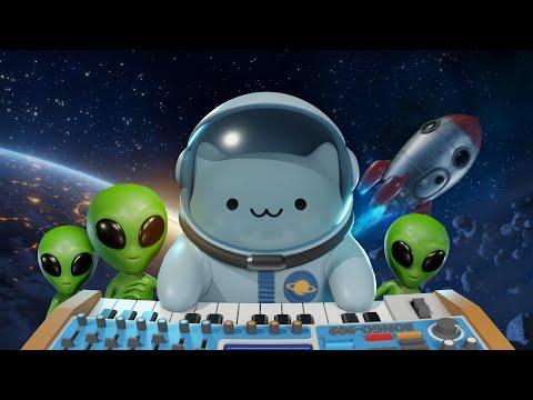 Bongo Cat в космосе (3D Анимация)