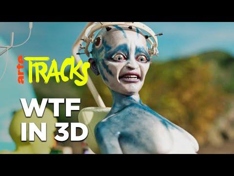 Die 3D-Alpträume von Cole Kush | Arte TRACKS