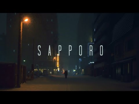 Winter in Sapporo - Cinematic Street Scenes inspired by Blade Runner 2049