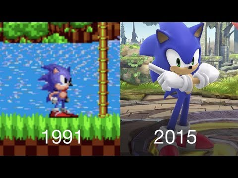 Video Game Characters Then Vs. Now