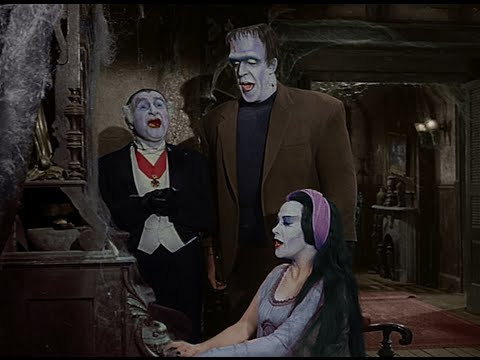 The Munsters - Family Singing Time (in COLOR) - POP-COLORTURE.com