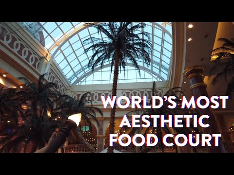 INCREDIBLE Food Court : Aesthetic Themes & Vaporwave Dreams (The Orient, Trafford Centre Mall)