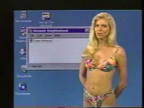 Windows '95 with Greta