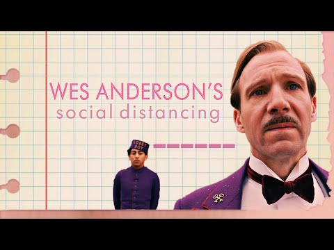 Wes Anderson's Social Distancing