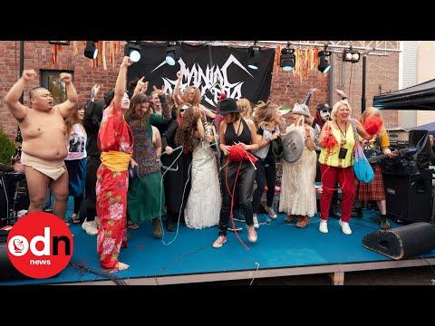 Finland Hosts Heavy Metal Knitting World Championship
