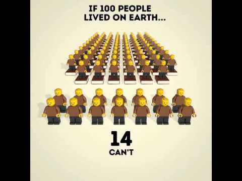 If 100 People Lived on Earth then ...