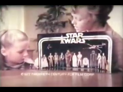 Star Wars - All 1977-1978 Kenner Toy Commercials - Compilation