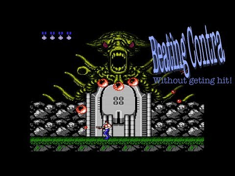 Beating Contra (NES) with just 1 Life!