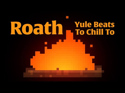 Yule Beats To Chill To – Half Hour of Lo-Fi Christmas Carols with 4K Pixel Art Yule Log Fireplace