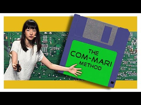 Tidying up your computer in the '90s: Marie Kondo style