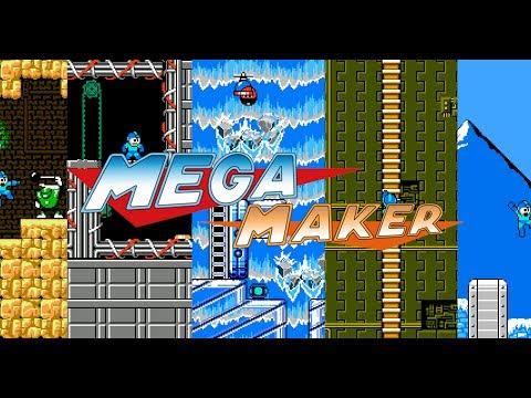 Mega Man Maker - Create your own Mega Man levels! - Official trailer