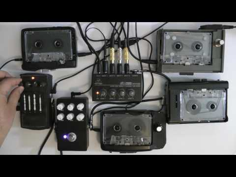 AMBIENT WALKMAN SYMPHONY | LIVE IMPROVISED TAPE LOOPS