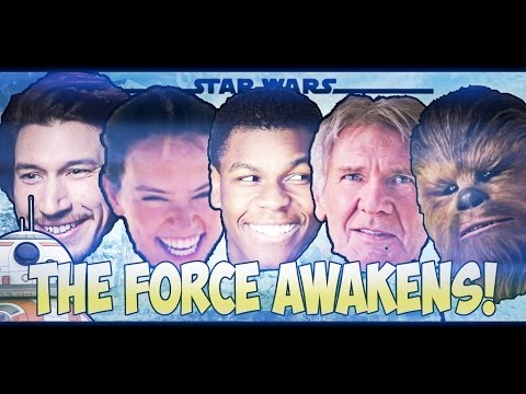 STAR WARS But it's an 80's sitcom opening