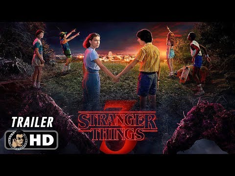 STRANGER THINGS Season 3 Official Date Announcement Trailer (HD) Netflix Series