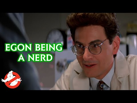 Geeking Out With Egon For 5 Minutes | GHOSTBUSTERS