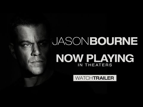 Jason Bourne - Official Trailer (HD)