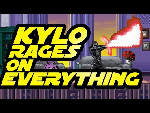 Kylo Ren FREAKS OUT in Everyday Situations | Star Wars Force Awakens Parody