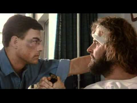 BLOODSPORT - BADLY ACTED GAY SCENE