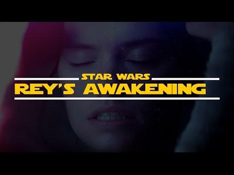 Rey's awakening