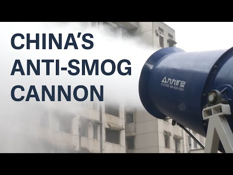 China is using these expensive cannons to fight smog