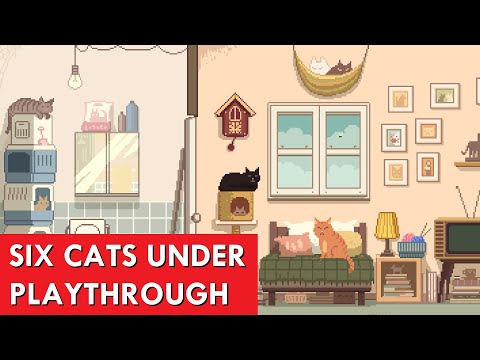 Six Cats Under (Full Playthrough)