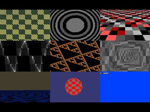 """Memories"" - 256 byte MSDOS intro"