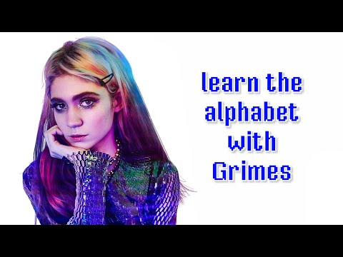 Learn the alphabet with Grimes