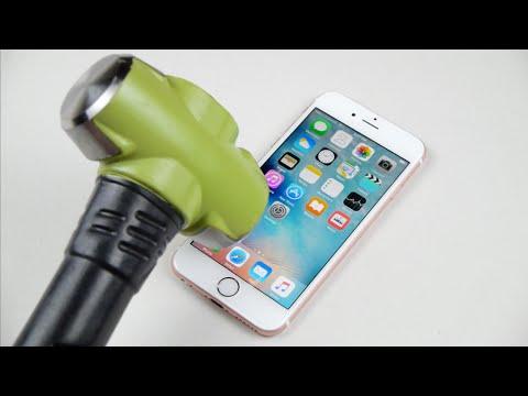 Rose Gold iPhone 6S Hammer & Knife Test!