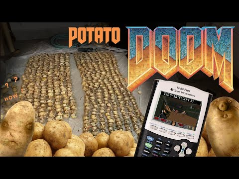 How Many Potatoes Does It Take To Run DOOM?