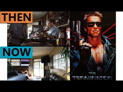 The Terminator Filming Locations | Then & Now 1984 Los Angeles
