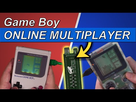 Online Multiplayer on the Game Boy