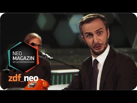 Die Top-5 der PEGIDA-Charts - NEO MAGAZIN mit Jan Böhmermann - ZDFneo
