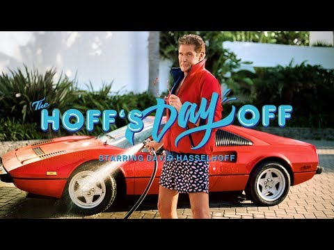 Take the summer Hoff with David Hasselhoff