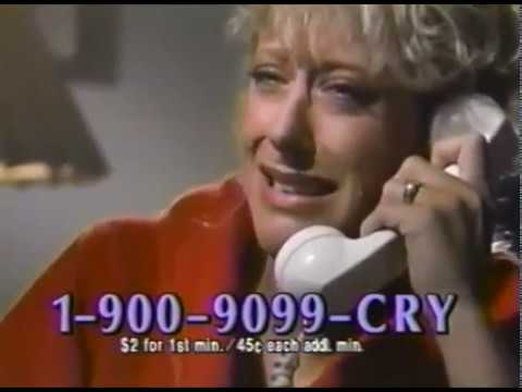 The Weirdest 1-900 Hotline Commercials compilation.
