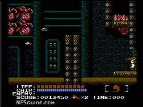 Kabuki Quantum Fighter - NES Gameplay