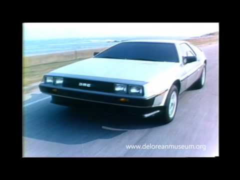 Original 1981 DeLorean TV Commercial
