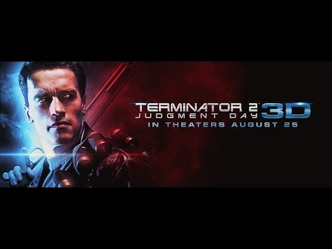 TERMINATOR 2: 3D - Official US Trailer 2 (Feat James Cameron)