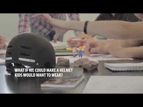 Ny måde at motivere børn til at huske hjelmen?