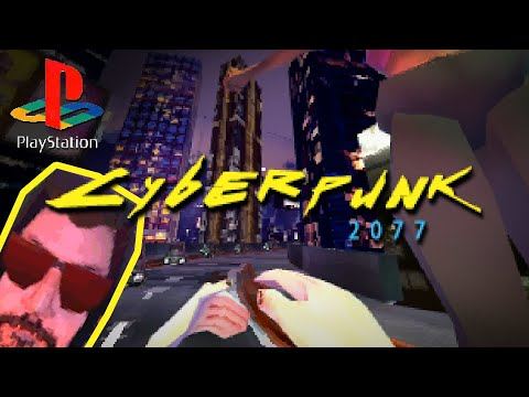 Cyberpunk 2077 but it's for PS1