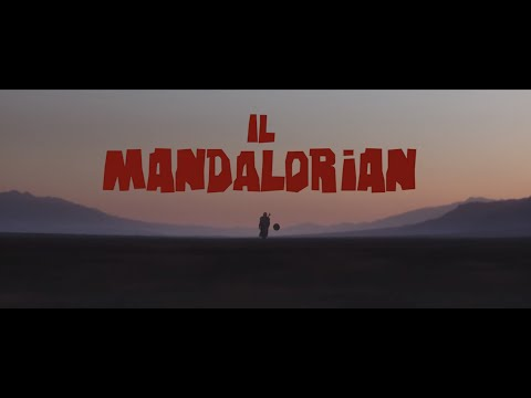 "Spaghetti Western Trailer for ""The Mandalorian"""