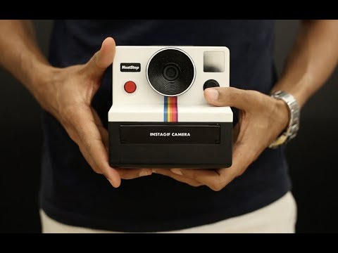 Instagif - A DIY Camera that prints GIFs instantly