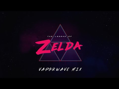 Legend of Zelda - Vaporwave/Synthwave Ultimate Mix ( Z E L D A W A V E )